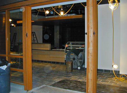 The Fsm Cafe Construction Site November 1999 Uc Berkeley